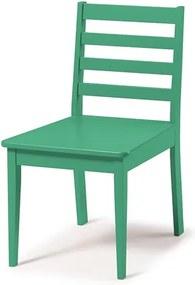 Cadeira Helena em Madeira Maciça  - Verde Anis