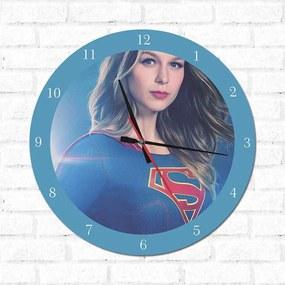Relógio Decorativo Super Girl 3