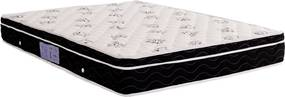 Colchão Physical  Casal 138X188X23 Molas Nanolastic  Preto/Branco Ortobom