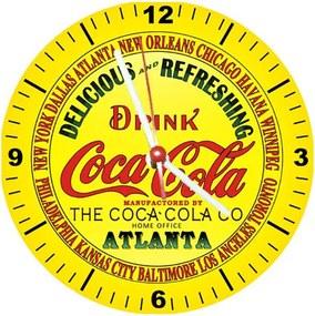 Relógio Decorativo Coca Cola Atlanta