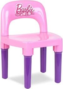 Cadeira Barbie Rosa Fun Divirta-se