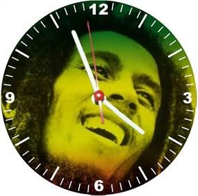 Relógio Decorativo Bob Marley Sorriso