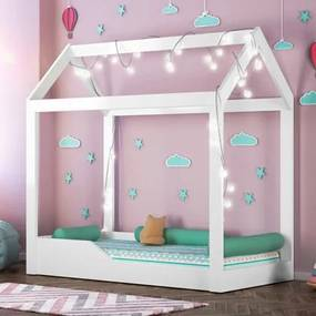 Cama Infantil Montessoriana Crystal Branco - PN Baby