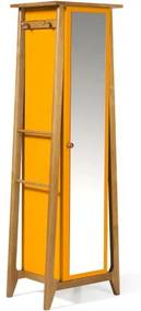 Armario Multiuso Stoka Cor Amendoa Com Amarelo - 31596 Sun House