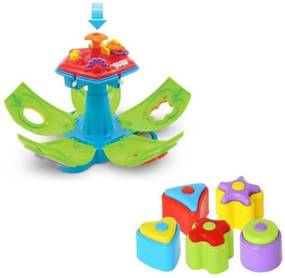 Brinquedo Educativo Maral Penta Formas Com Som Multicolorido