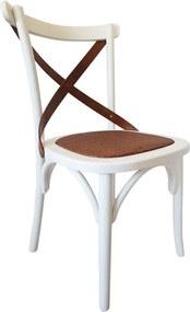 Cadeira de Jantar X Espanha com Rattan - Wood Prime TT 14910