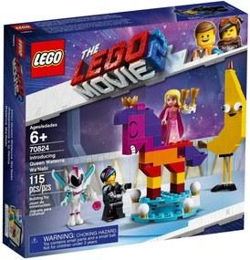 Lego The Movie 70824 Apresentação da Rainha Flaseria - Lego