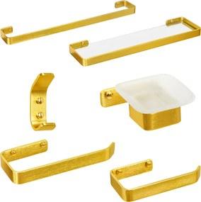 Kit de Acessórios para Banheiro (Miró Dourado)