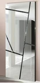 Espelho Pacific com Moldura Carvalho Preto 2,00 MT - 14388 Sun House