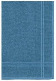 Toalha De Piso Karsten -Metropole Jacquard Azul Crepusculo