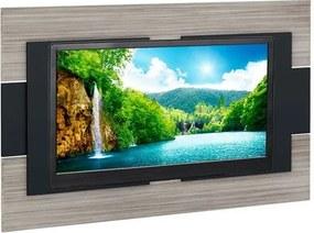Painel para TV até 50 polegadas, Grigio com Preto, Techno