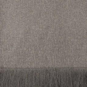 Manta para Sofá Marrocos de 1,40 x 1,40 m Cinza
