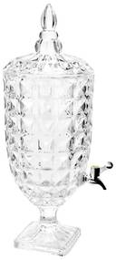 Suqueira Cristal Com Pe Adamant 4,4 Litros 26313 Wolff