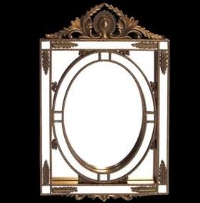 Espelho Veneziano Detalhe Bronze 170x70cm