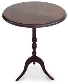 Mesa de Canto Hillux Madeira Maciça Design Clássico Peça Artesanal