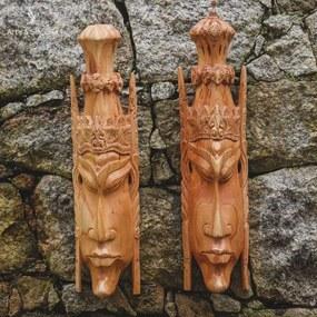 Máscaras de Madeira Casal Ramayana