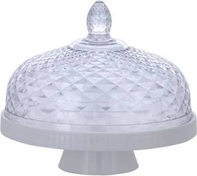 Queijeira Luxxor 22cm - Branco - Paramount