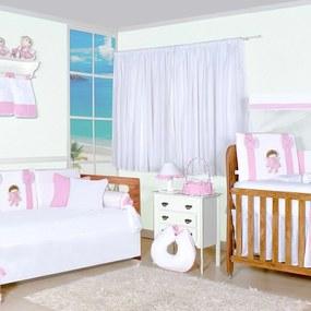 Quarto Completo Padroeira Baby Boneca Vivi Rosa
