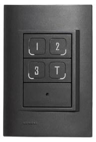Interruptor Inteligente 4X2 Ir Newpad Easy - CARBONO