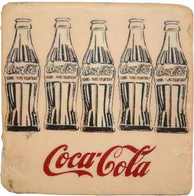 Porta Copos de Resina Coca Cola