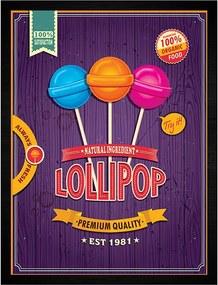 Quadro Lollipop Pirulitos