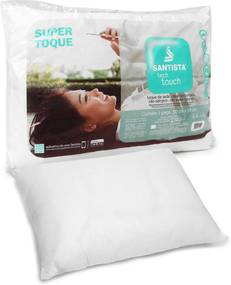 Travesseiro Santista Tech Touch 50x70cm Branco