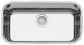 Cuba n.2 Tramontina Lavínia Prime em Aço Inox Alto Brilho 56 x 34 x 17 cm com Válvula 94024202