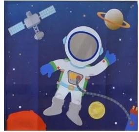 Cortina Temática Galáxia Astronauta