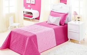 Cobre Leito Carinho Solteiro 4 Peças Dourados Enxovais Pink