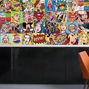 Adesivo Azulejos Pop Art (15x15)