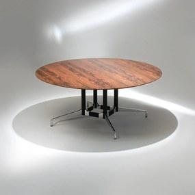 Mesa de Jantar Segmentada 4 Colunas Alumínio e Aço Studio Mais Design by Charles e Ray Eames