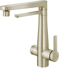 Misturador Monocomando para Cozinha Mesa com Purificador Vitalis Níquel Escovado - 00808944 - Docol - Docol