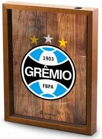 Quadro gde vidro rolha - grÊmio escudo