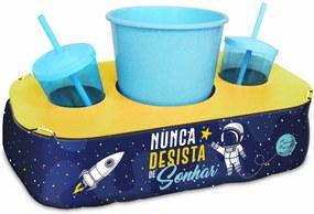 Conjunto pipoca - kids - astronauta