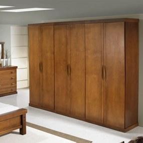 Roupeiro Style 6 Portas Domus Móveis -