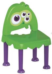 Cadeira Infantil Monster Unissex Tramontina 92271280