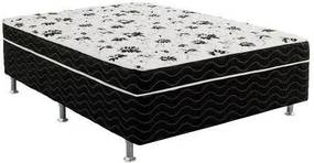 Cama-Box Conjugada Orthovida Unibox Casal 138X50X188 - Confort (Cinza)