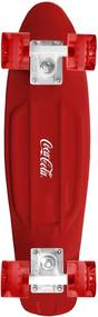 Skate Cruiser Coca- Cola Vermelho