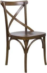 Cadeira de Jantar X Espanha Capuccino Fosco - Wood Prime 33462