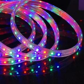 fita de led 28,8w/m colorida rgb 24v 5m c/ silicone Bella LP077