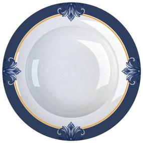 Jogo de 6 Pratos Fundos De Porcelana Porto