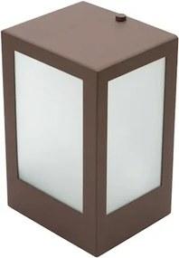 Arandela 488 Marrom 1 Eletronica 15W Ip65 Sem Lampada