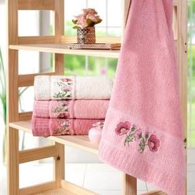 Toalha de Rosto Encanto 45cm x 68cm Rosa Quartzo – Bene Casa