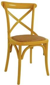 Cadeira de Jantar X Espanha com Rattan - Wood Prime TT 33250