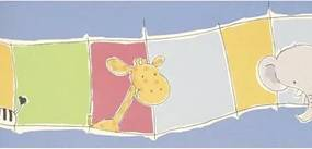Papel De Parede Safari Friends Belga Sf6927