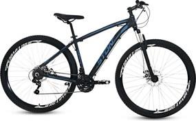 Bicicleta Aro 29 Equinox 21V Alumínio Azul - Stone Bike