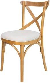 Cadeira de Jantar X Espanha Estofada - Wood Prime 33461