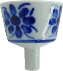 Coador de Café em Porcelana Azul Colonial