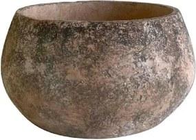 Cachepot de Cimento Rústico 16,5x30,5cm