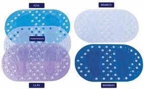 Tapete Antiderrapante Para Box Astra 67 X 36 - Andreza Azul escuro